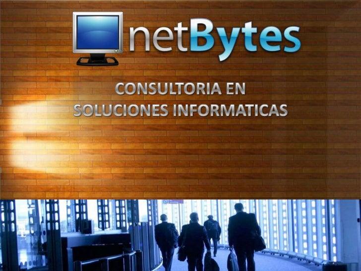 CONSULTORIA EN <br />SOLUCIONES INFORMATICAS<br />