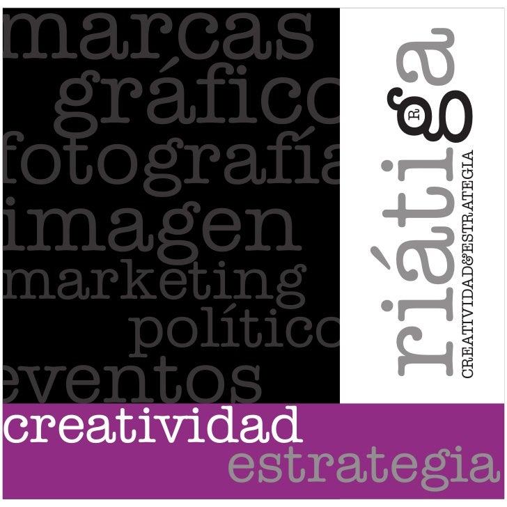 RCREATIVIDAD&ESTRATEGIAriátiga