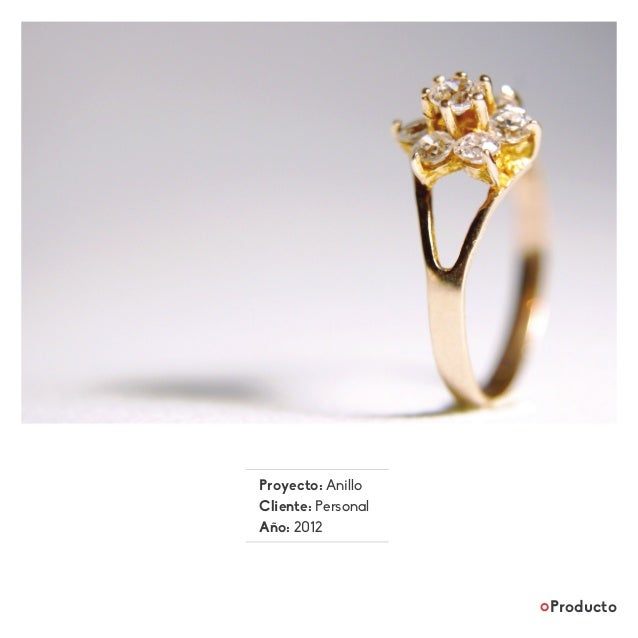 Proyecto: Anillo Cliente: Personal Año: 2012 Producto