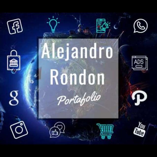 Portafolio alejandro rondon power point