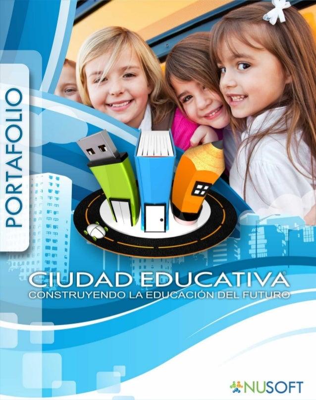 Portafolio ciudad educativa 2012