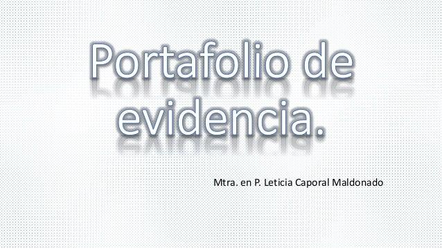 Mtra. en P. Leticia Caporal Maldonado