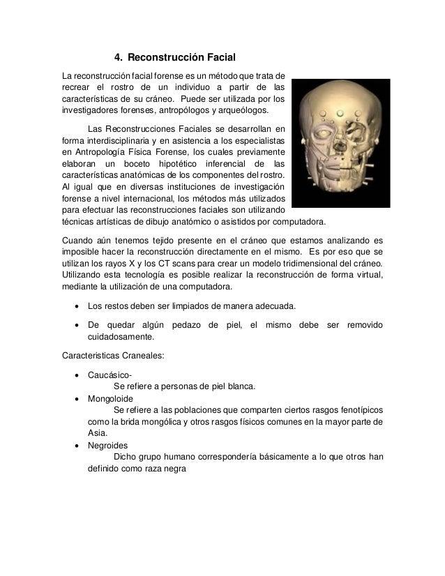 Fantástico Anatomía De Reconstrucciones De Crímenes Patrón ...