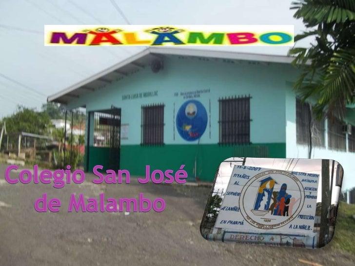 Colegio San José <br />de Malambo<br />