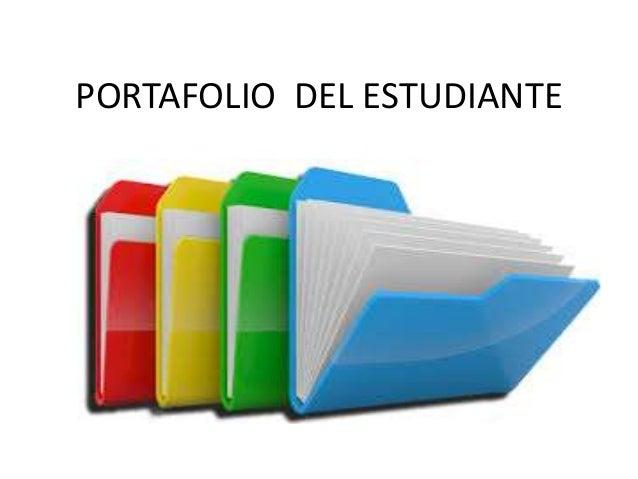 PORTAFOLIO DEL ESTUDIANTE