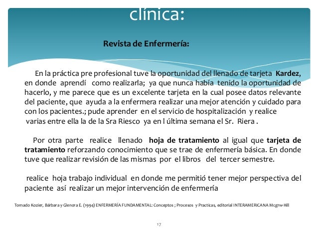 Portafolio de practicas clinicas enfermeria
