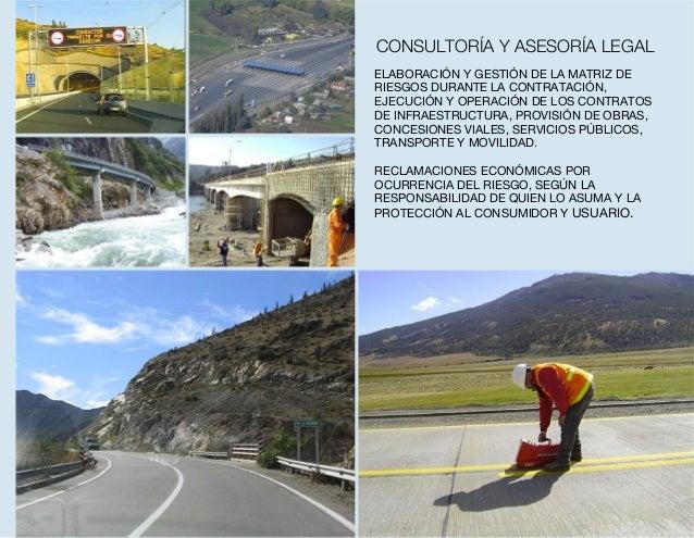 ELABORACIÓN Y GESTIÓN DE LA MATRIZ DE RIESGOS DURANTE LA CONTRATACIÓN, EJECUCIÓN Y OPERACIÓN DE LOS CONTRATOS DE INFRAESTR...
