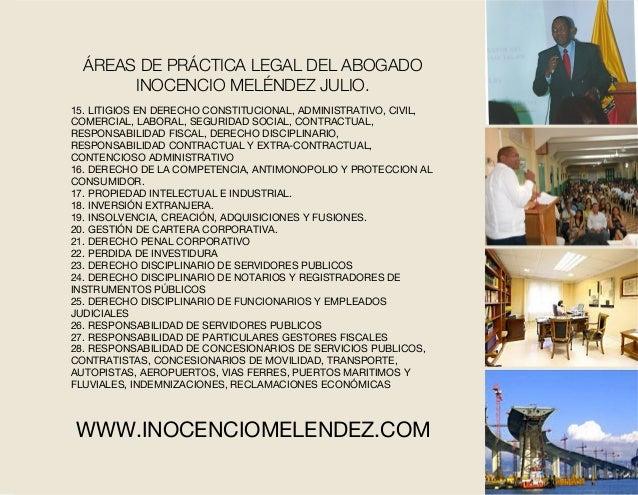 15. LITIGIOS EN DERECHO CONSTITUCIONAL, ADMINISTRATIVO, CIVIL, COMERCIAL, LABORAL, SEGURIDAD SOCIAL, CONTRACTUAL, RESPONSA...