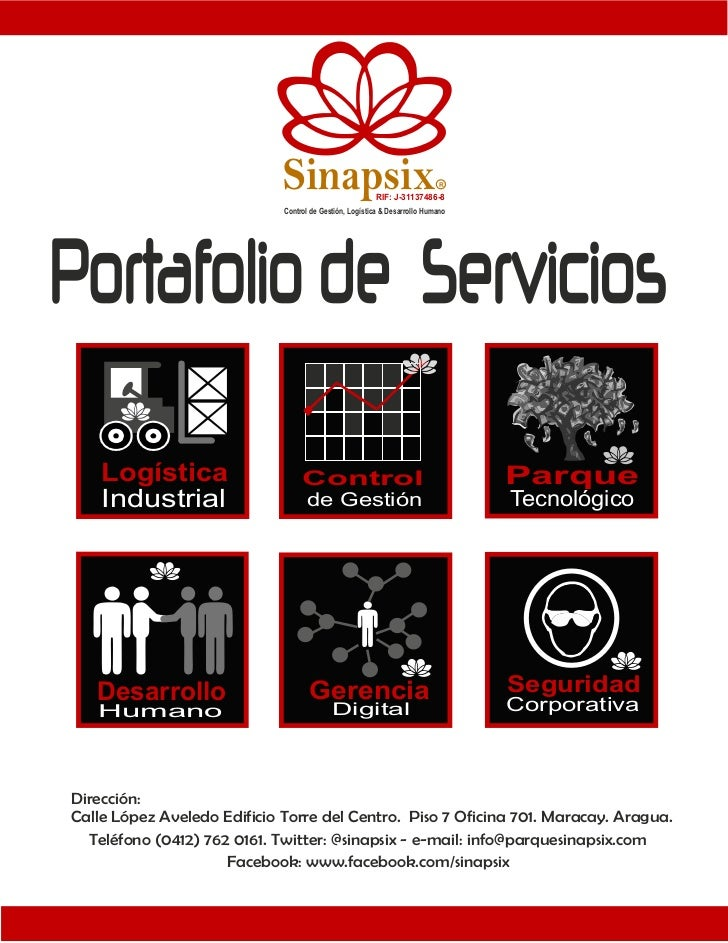 Sinapsix                   RIF: J-31137486-8                                                                           R  ...