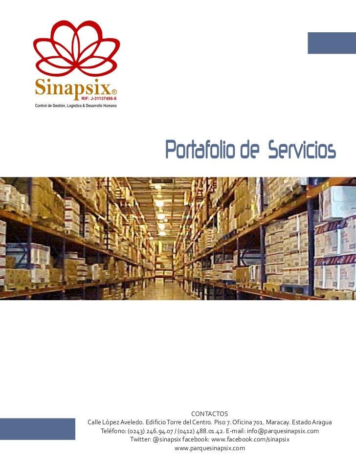 Sinapsix                   RIF: J-31137486-8                                              RControl de Gestión, Logística &...