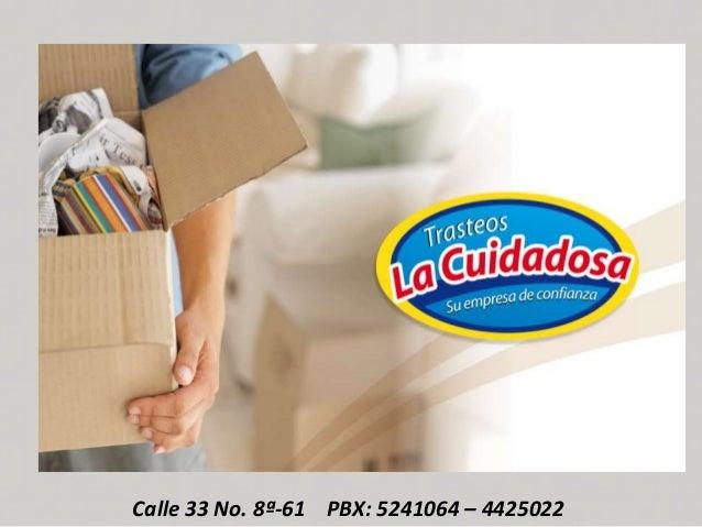 Calle 33 No. 8ª-61 PBX: 5241064 – 4425022