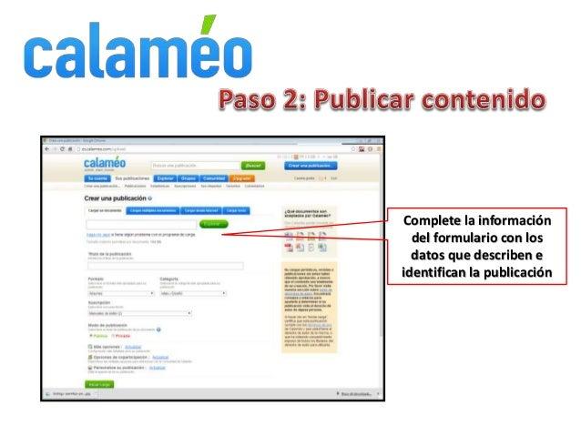 Publicar documentos de SlideShare y Calameo en Wordpress