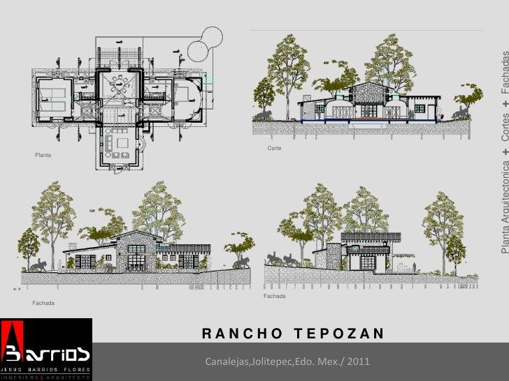 Portafolio ia barrios for Cortes arquitectonicos