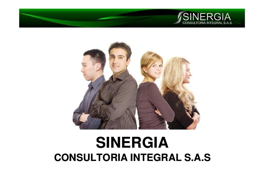SINERGIA CONSULTORIA INTEGRAL S.A.S