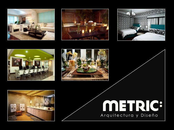 Metric arquitectura y dise o for Arquitectura y diseno
