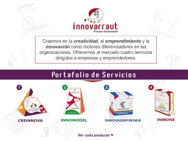 Creemos en la creatividad, el emprendimiento y la innovación como motores diferenciadores en las organizaciones. Ofrecemos...