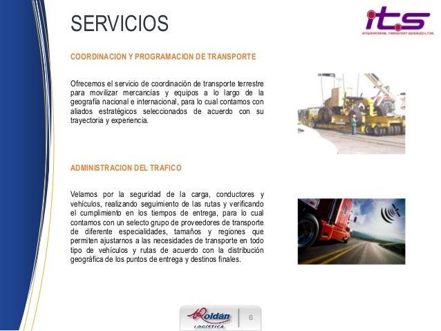 Portafolio servicios its - Servicio de transporte ...