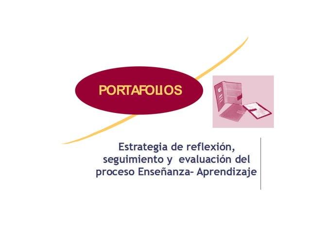 PORTAFOLIOS