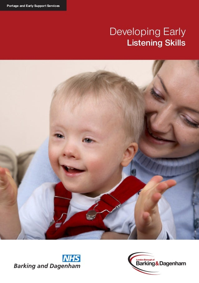 Portage and Early Support Services  Developing Early Listening Skills