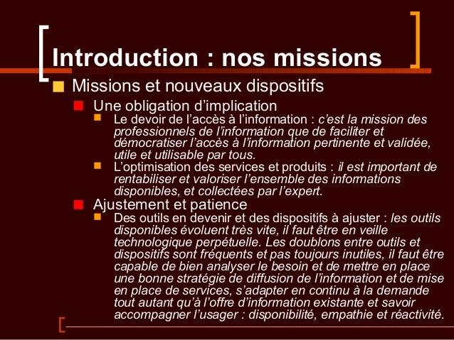 Portails d'information Slide 3