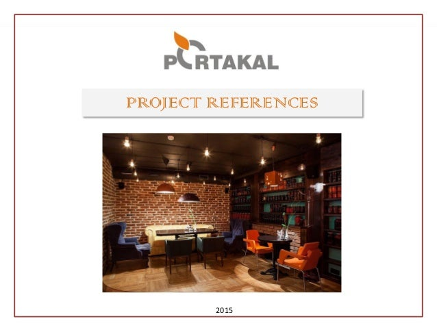PROJECT REFERENCES 2015