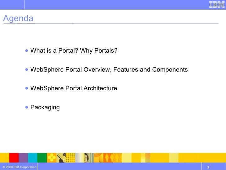 WebSphere Portal Business Overview Slide 2