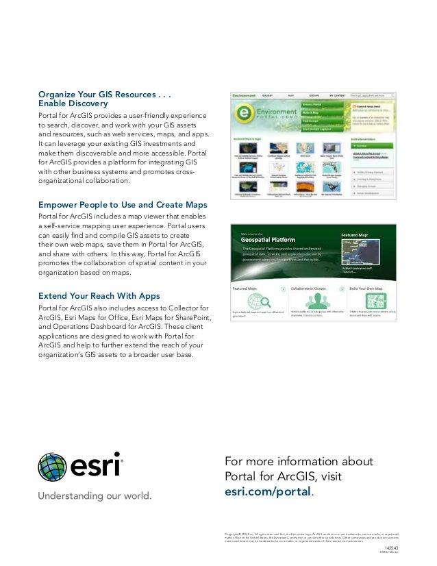 Portal for ArcGIS Slide 2