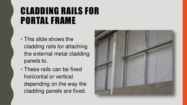 PORTAL FRAME- Structural systems