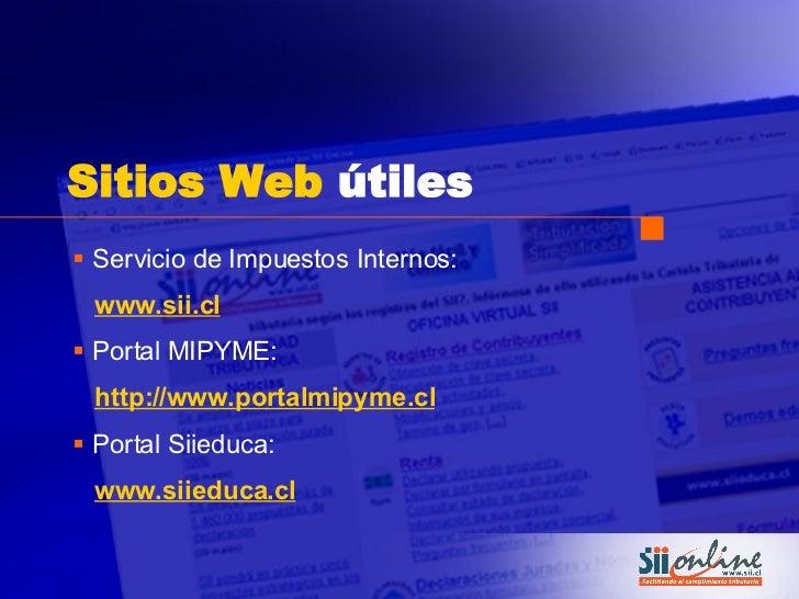 Portal tributario mipyme servicio de impuestos internos for Portal de servicios internos policia