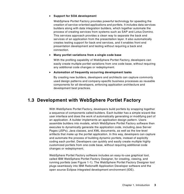 Portal application development using websphere portlet factory fandeluxe Epub