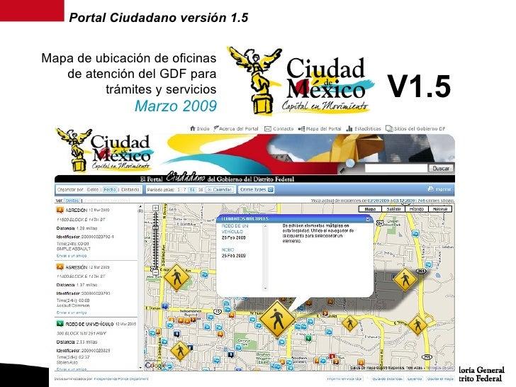 Portal ciudadano gdf for Oficina del ciudadano