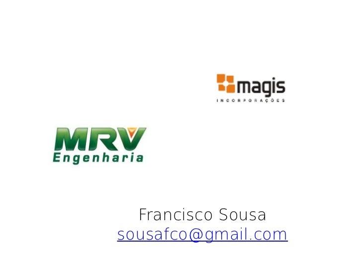 Francisco Sousasousafco@gmail.com