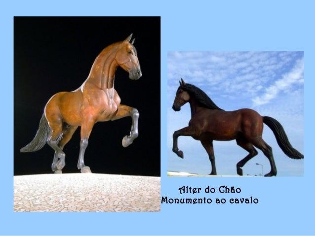 Alter do Chão Monumento ao cavalo