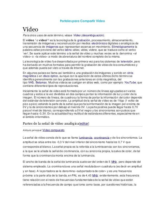 Word portales para compartir video examen for Asilo de ancianos pdf