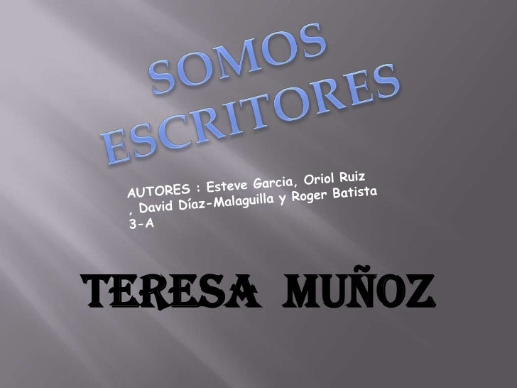 Teresa Muñoz
