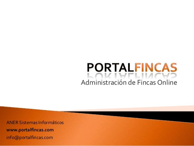 Administraci n de fincas online portalfincas for Administracion de fincas torrevieja