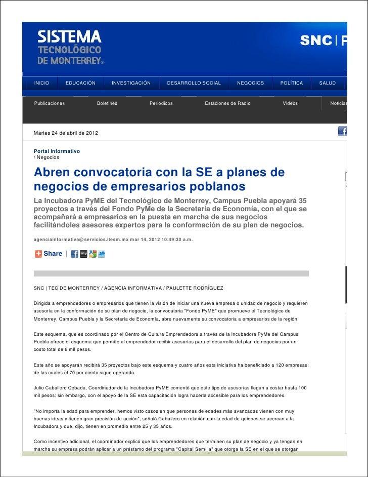 INICIO          EDUCACIÓN           INVESTIGACIÓN          DESARROLLO SOCIAL              NEGOCIOS           POLÍTICA     ...