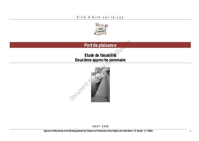 Agence d'Urbanisme et de Développement de l'Agence d'Urbanisme de la Région de Saint-Omer / D. Boukli - G. Villain 1  Vill...