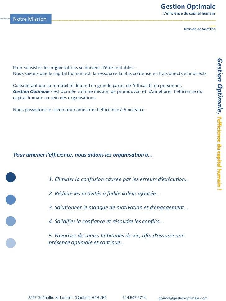 Portefolio Go  2012 Slide 2