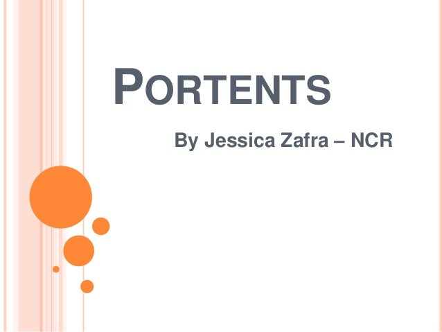 PORTENTS By Jessica Zafra – NCR