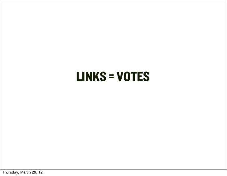 LINKS = VOTESThursday, March 29, 12