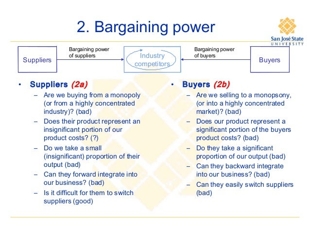 an overview of the bargaining power of buyers in fedex ups Fedex strategic analysis some of the company's which were posing as threats to fedex are as follows: ups: medium) 5 313 bargaining power of buyers.