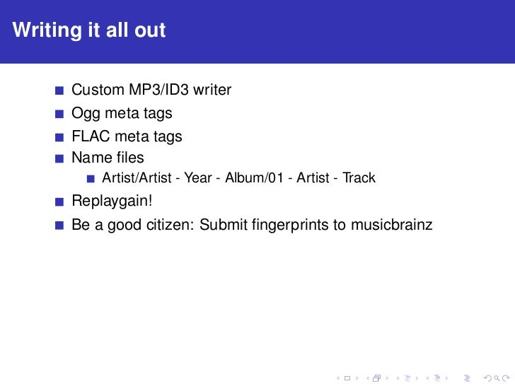 Mp25: Audio Fingerprinting and metadata correction with Python