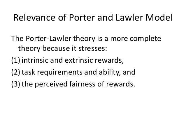 lawler s model on reward management In sum, lawler's model posits that four resources -- knowledge, power, information and rewards -- create the conditions that enable employees within the organization to restructure for high performance.