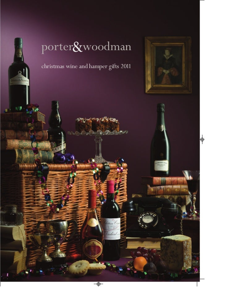 porter&woodmanchristmas wine and hamper gifts 2011