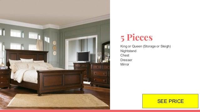 Porter Bedroom Set B697 Ashley Furniture