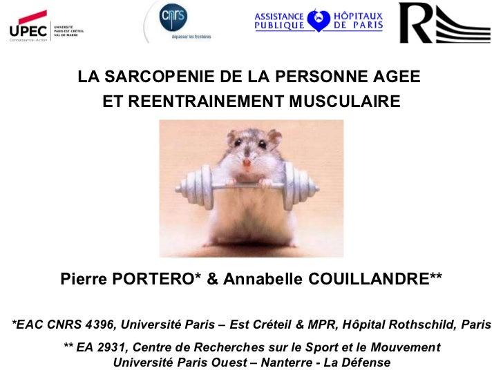 Pierre PORTERO* & Annabelle COUILLANDRE** *EAC CNRS 4396, Université Paris – Est Créteil & MPR, Hôpital Rothschild, Paris ...