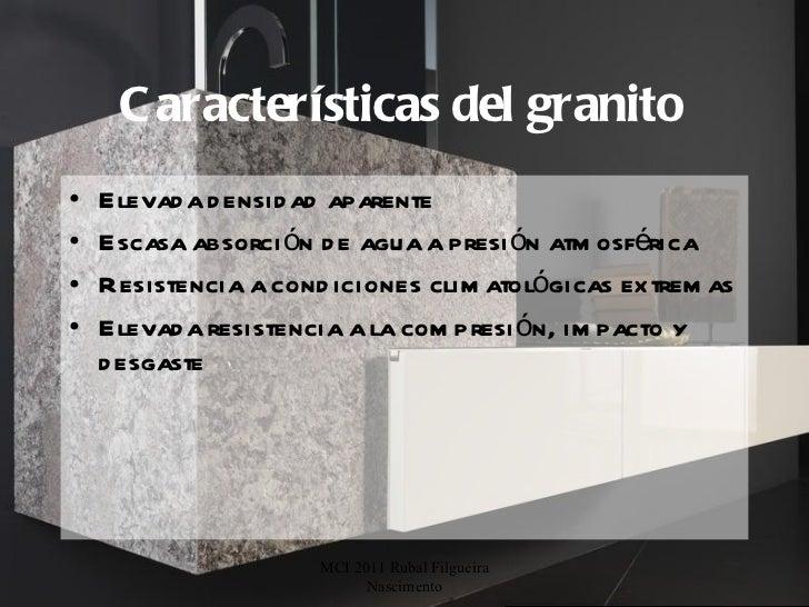 Porter para el cluster del granito 1 for Granito caracteristicas
