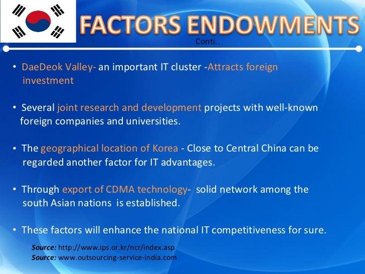 <ul><li>DaeDeok Valley-  an important IT cluster - Attracts foreign  </li></ul><ul><li>investment </li></ul><ul><li>Severa...