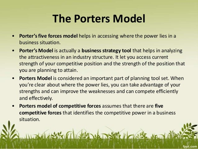 What are the limitations of porter's five forces model?